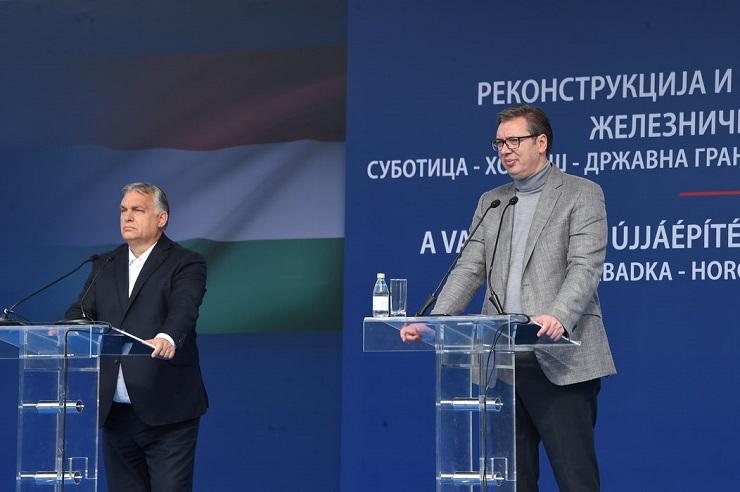 Počeli radovi na modernizaciji pruge Subotica - Segedin uz prisustvo Vučića i Orbana