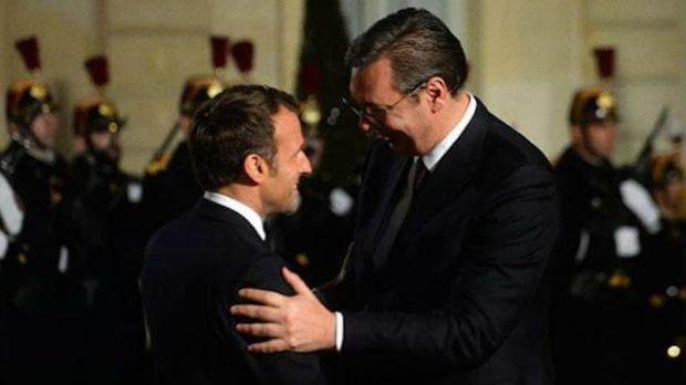 Makron: Srbija može da računa na podršku Francuske
