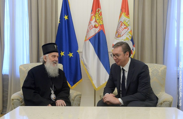 Vučić sa patrijarhom Irinejem: Više rada i više jedinstva činiće Srbiju boljom