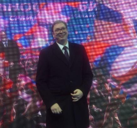 Vučić: Cela Srbija je moja kuća
