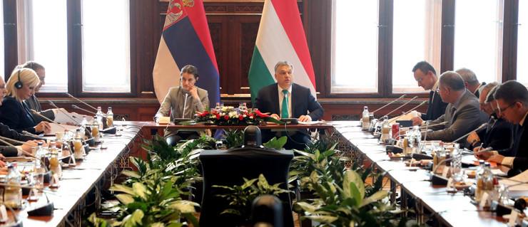 Zajednička sednica vlada Srbije i Mađarske u martu