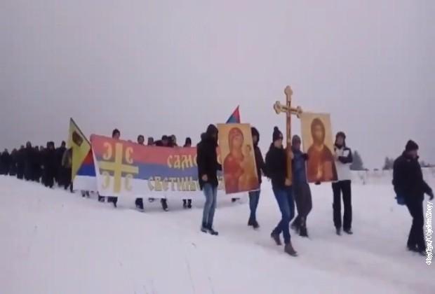 Protestne litije i večeras širom Crne Gore