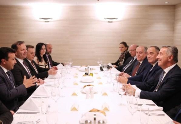 Đukanović i Zaev: Uzorni odnosi temelj za ekonomsku saradnju