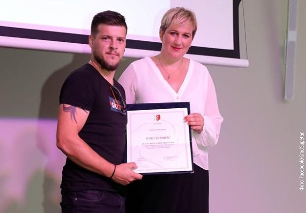 Hrvatska, zahvalnica vatrogascu koji je branio Srbe