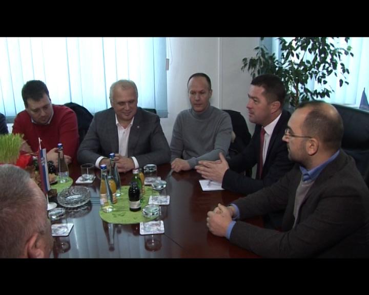 Delegacija iz Beograda u poseti Leposaviću, doček Nove godine sa meštanima
