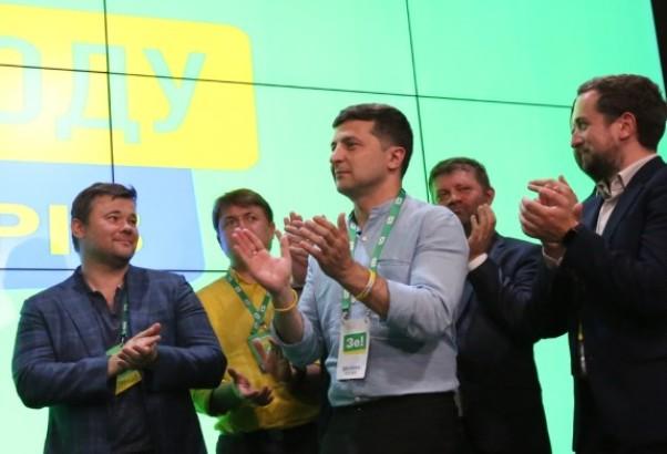 Zelenski poziva rok zvezdu da formiraju vladu