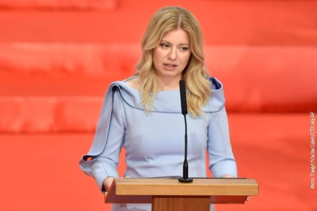 Prva predsednica Slovačke položila zakletvu