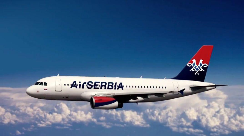 Odleteo avion Er Srbije za Bratislavu po naše građane