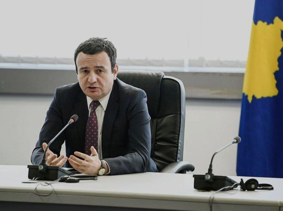 Kurti: Morao sam da smenim Veljiua jer je izdao  policiju i građane, neću popustiti pritisku Srbije