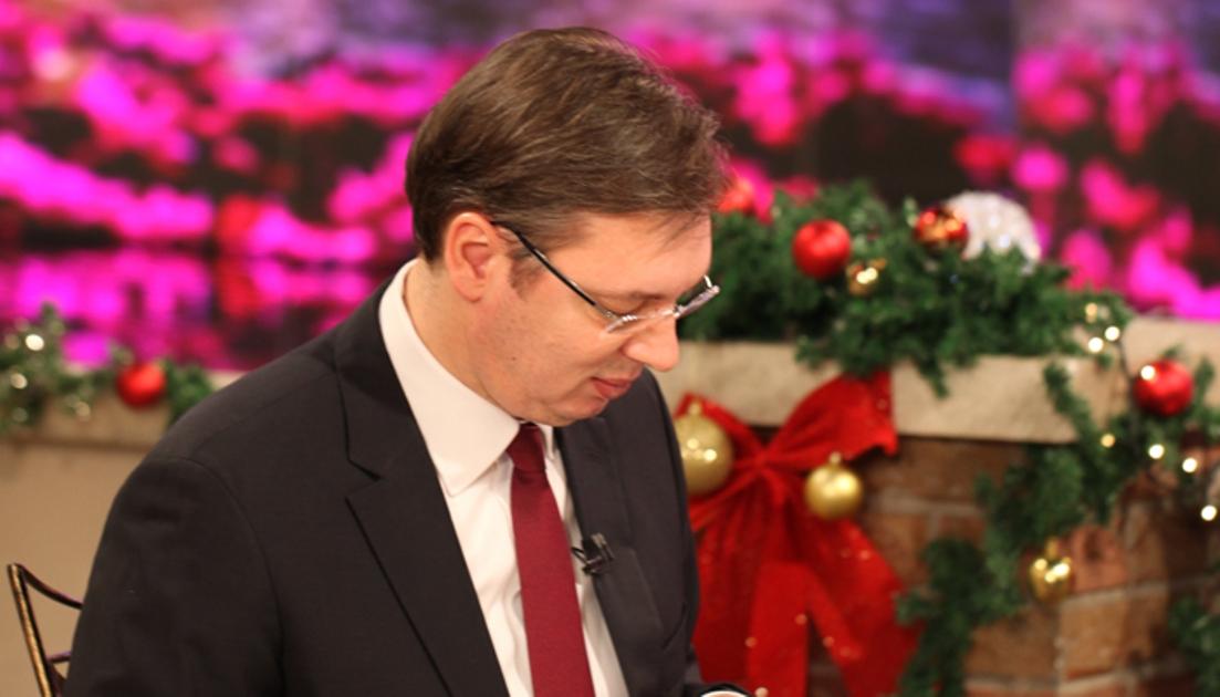 Vučić: Neka Božić bude nepresušni izvor duhovne snage