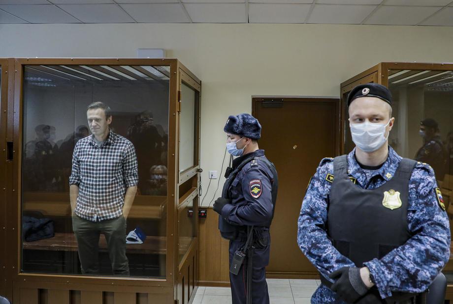 Navaljnom odbijena žalba, sud potvrdio 2,6 godina zatvora