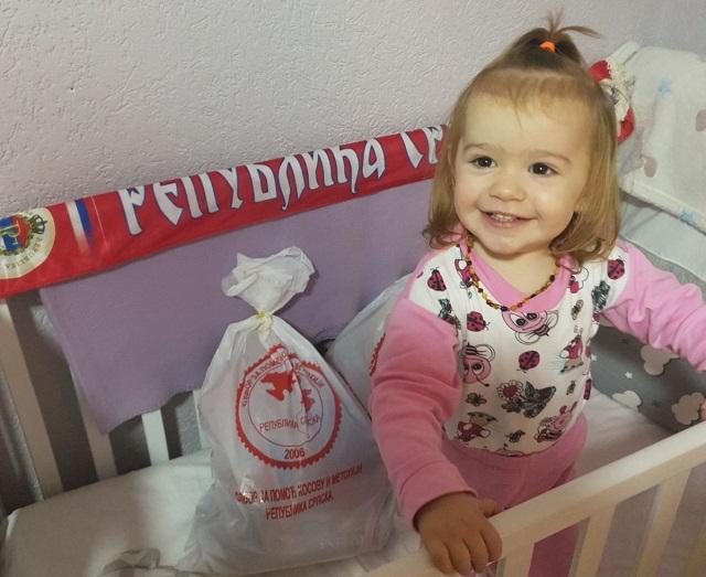 Svetosavski paketići  za decu na KiM od Odbora za pomoć Kosovu i Metohiji iz Banja Luke