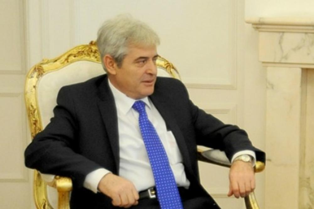 Ahmeti: Odbio sam podelu Makedonije