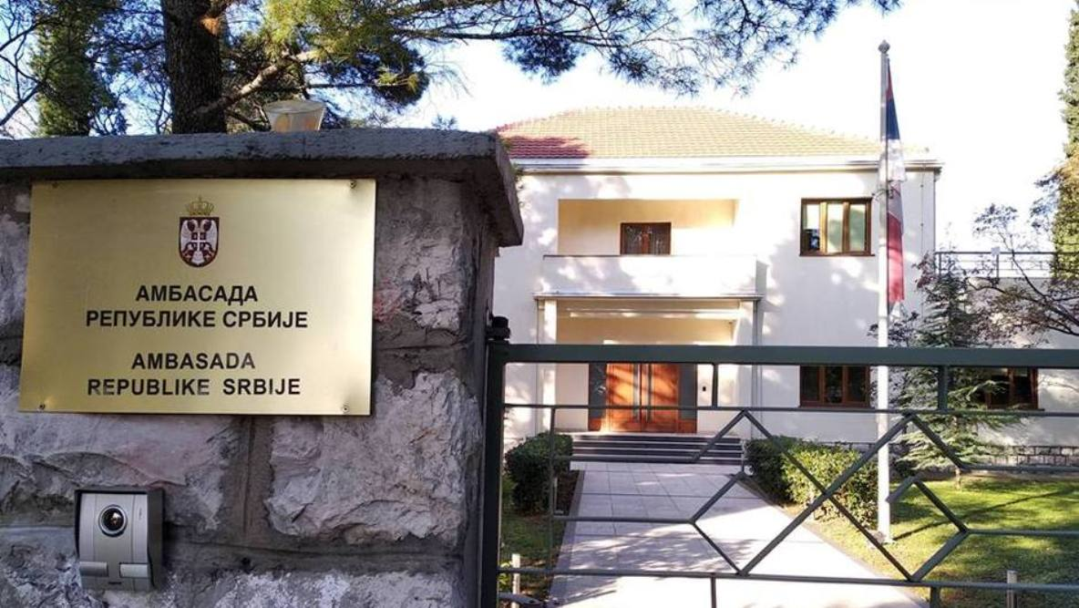 Ambasada: Srbija se ni na koji način nije mešala