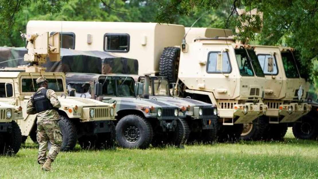 Vojska napušta Vašington, vraća se u matične baze