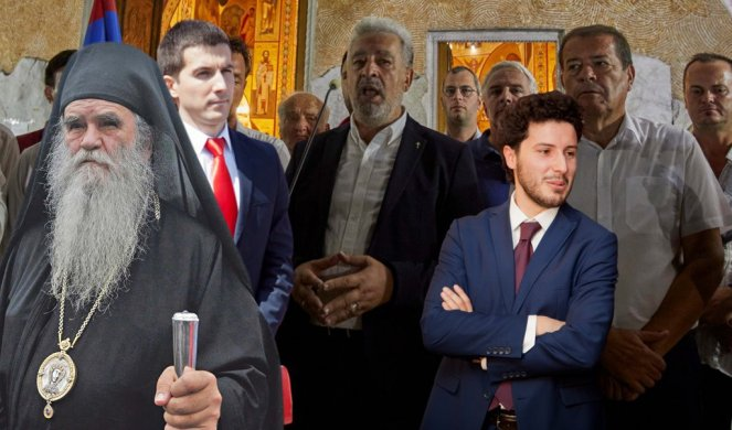 Sastanak Amfilohija i lidera tri crnogorske koalicije