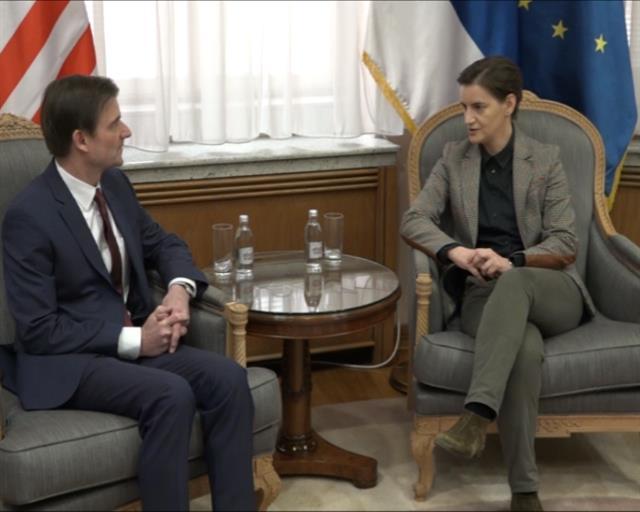 Brnabić Hejlu: Platforma - još jedan potez Prištine protiv dijaloga