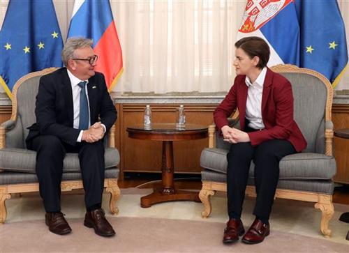 Brnabić s novim ambasadorom Slovenije