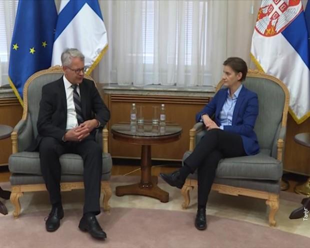 Učvršćivanje prijateljskih odnosa Srbije i Finske