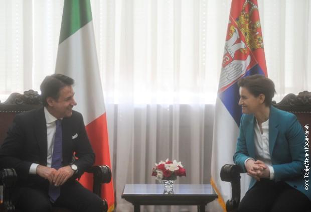 Brbnabićeva i Konte: Ekonomska saradnja može da se unapredi