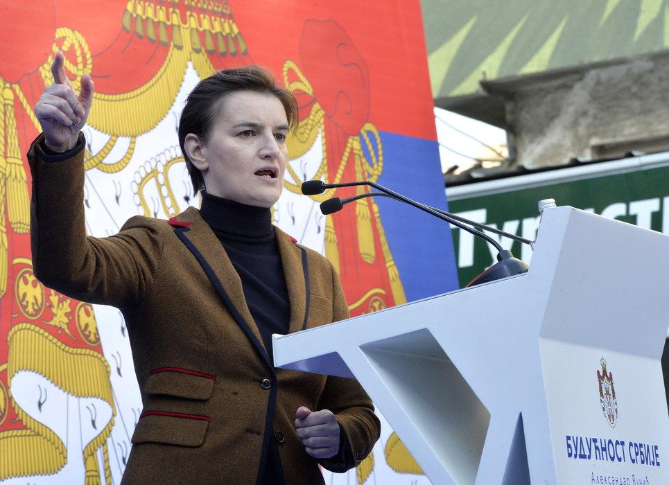 Brnabić: Srbija nije podeljena, većinska Srbija je marljiva