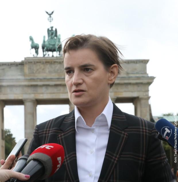 Brnabić: Iskreni razgovori sa Merkelovom, bez