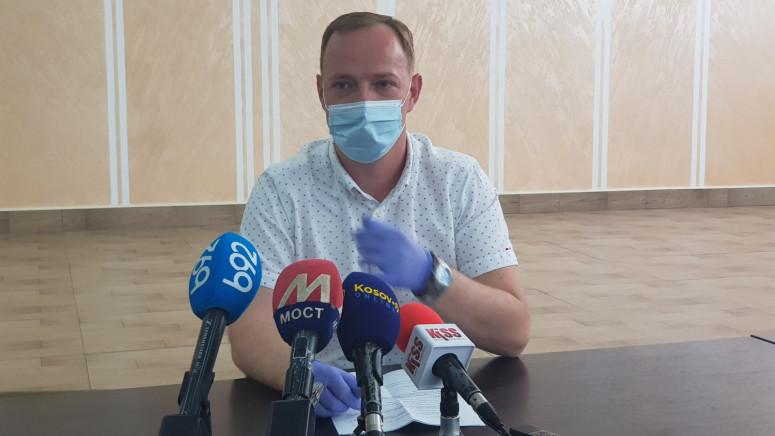 Antonijević: Na severu KiM 23 novoobolela, u prethodna tri dana 4 smrtna slučaja