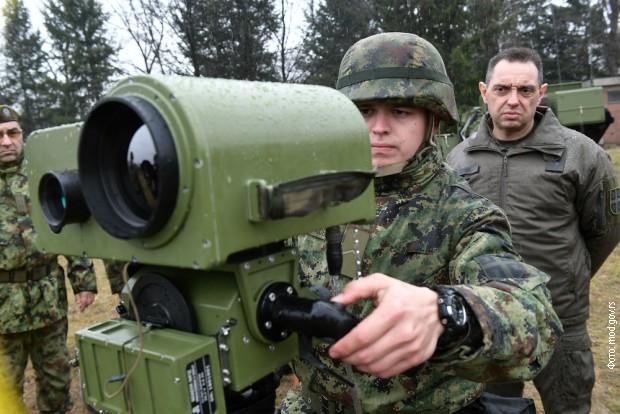 Vulin: Modernizacijom jačamo artiljeriju
