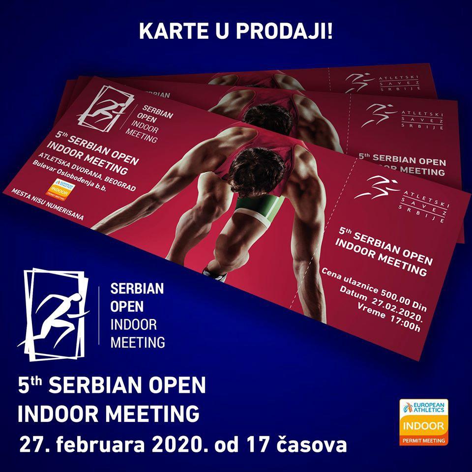 Otvoren peti atletski miting u Beogradu