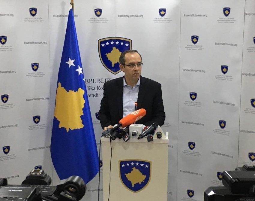 PR: Predsedništvo parlamenta o sastavu tima za dijalog