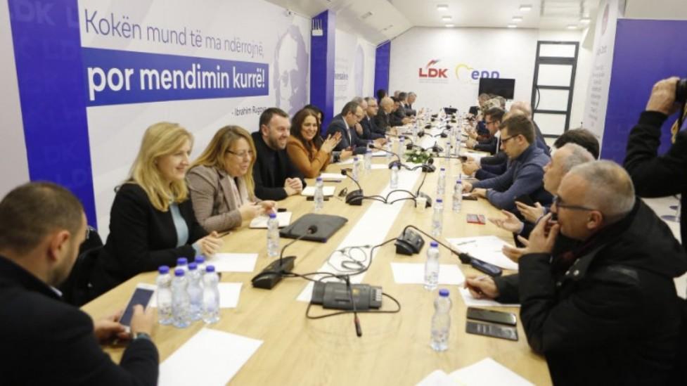 Predsedništvo DSK danas o koaliciji i novoj vladi