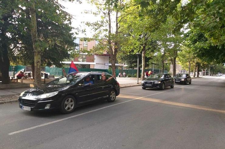 CG: I danas organizovane auto-litije u više gradova