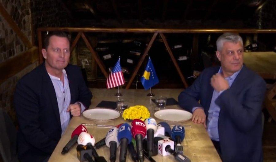 Grenel stigao u Prištinu, sastao se sa Tačijem: U fokusu ekonomija
