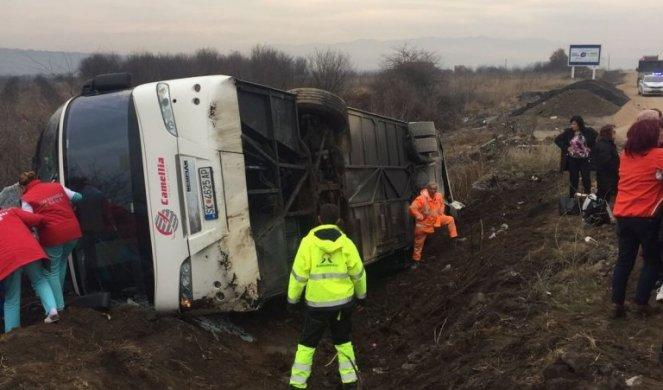 Prevrnuo se autobus na putu ka Kopaoniku