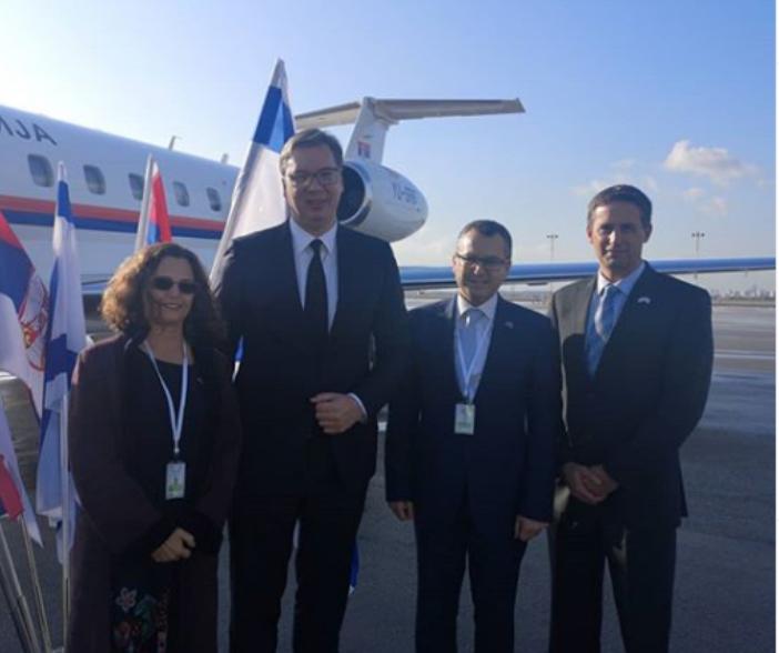 Vučić doputovao u Jerusalim