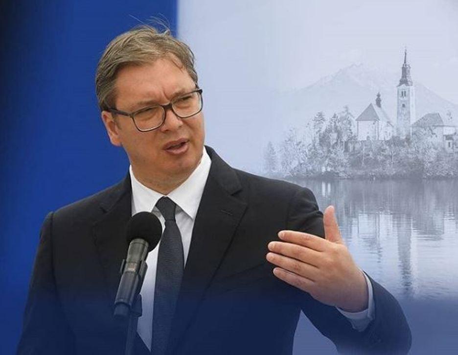 Vučić stigao na Bled, večeras sastanak sa Janšom