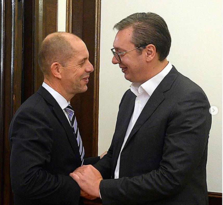Vučić: Fondacija Konrad Adenauer važan deo našeg društva