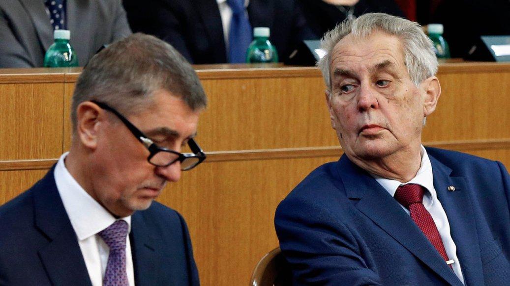 Babiš poručio Zemanu: Spreman sam na debatu o Kosovu