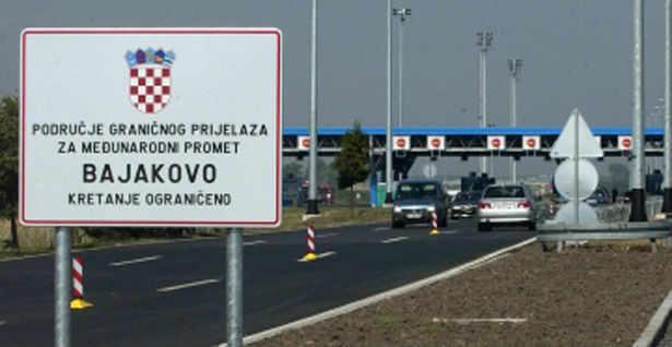 Na Bajakovu građani Srbije bez problema ulaze u Hrvatsku