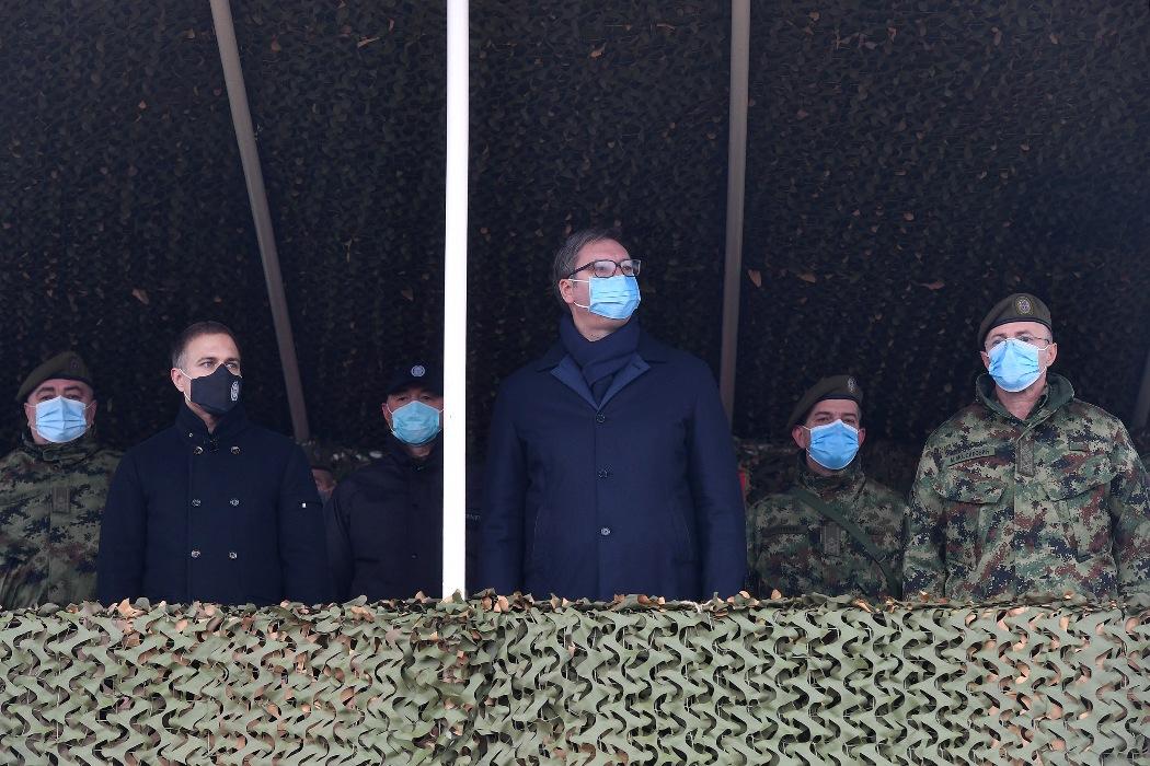 Predsednik Vučić: Zahvalan sam svima koji ulažu mnogo u našu vojsku