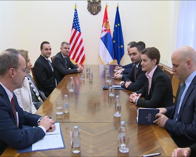 Brnabić sa Mekvilijams: Finansijska sigurnost građana Srbije