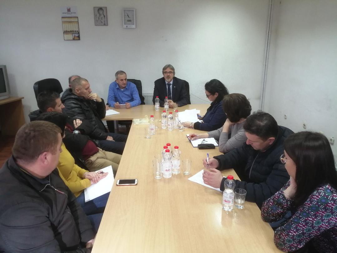 Bojović sa rukovodećim organima opštine Istok o ključnim problemima