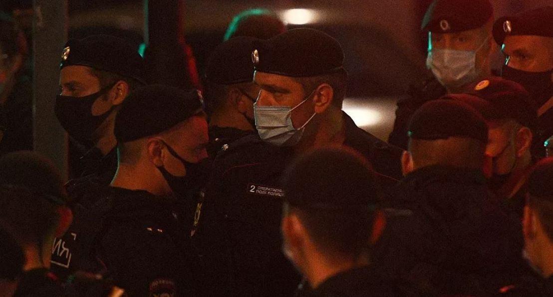 Najmanje petoro uhapšeno ispred ambasade Belorusije u Moskvi