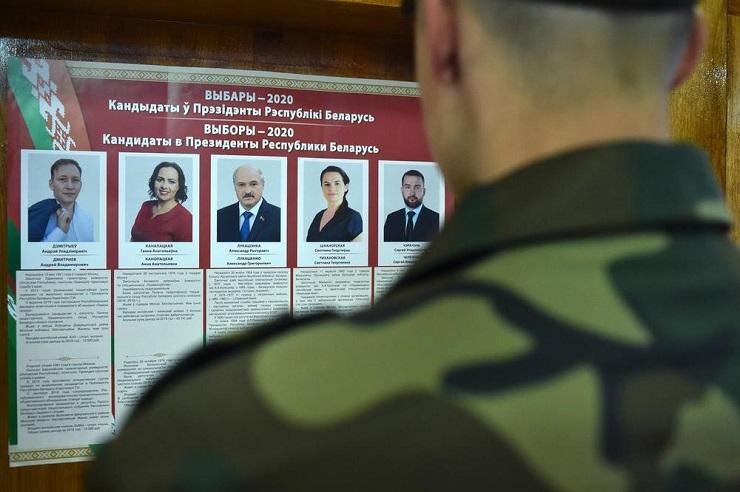 Završeno glasanje na predsedničkim izborima u Belorusiji
