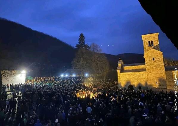 Novosti: Eksplozije na protestima u Beranama, nema povređenih