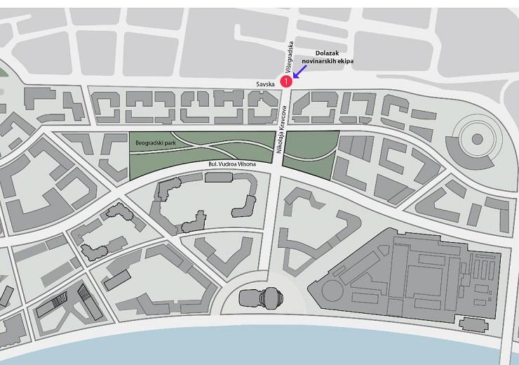 Vučić sutra na otvaranju Beogradskog parka