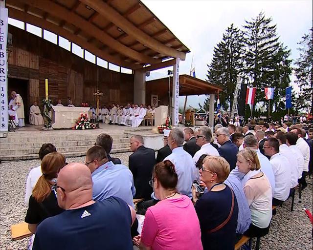 Odbijen zahtev za održavanje mise u Blajburgu