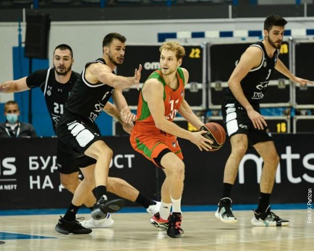 Pobeda košarkaša Partizana protiv Cedevite Olimpije
