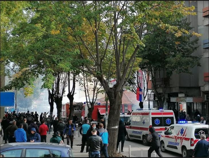 Akcija kosovske policije u Severnoj Mitrovici, bačen suzavac