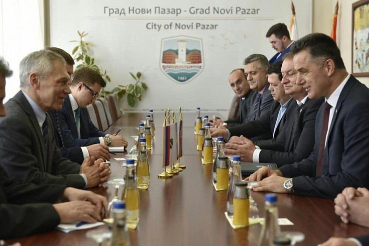 Bocan-Harčenko u N.Pazaru: Sandžak faktor stabilnosti u Srbij